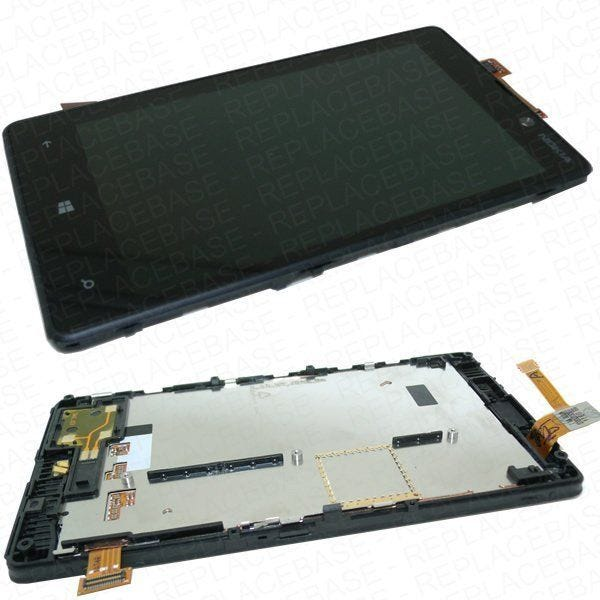 Nokia Lumia 820 Screen Replacement - Complete front assembly