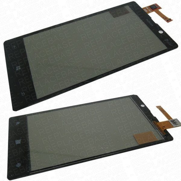 Original Nokia Lumia 820 touch screen digitizer, original replacement part that is fully compatible with all Lumia 820 handsets
