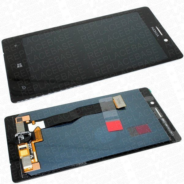 Original Lumia 925 LCD Assembly, assembly includes Gorilla Glass touch screen /' Digitizer and LCD screen