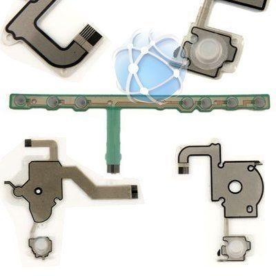 Sony PSP 2000 range full internal button membrane set including START / SELECT and VOLUME button bar