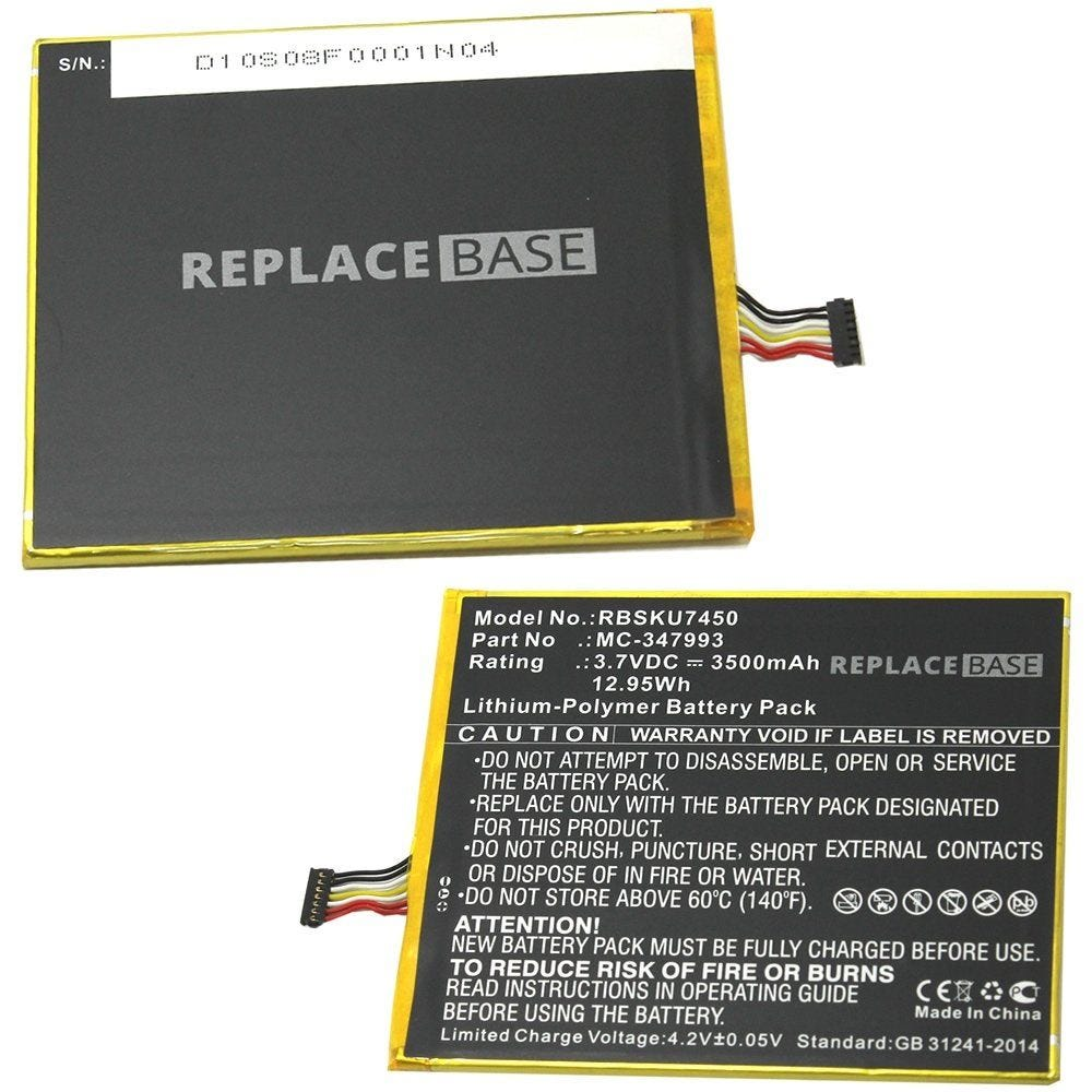 Battery Pack For Amazon Kindle HD 400