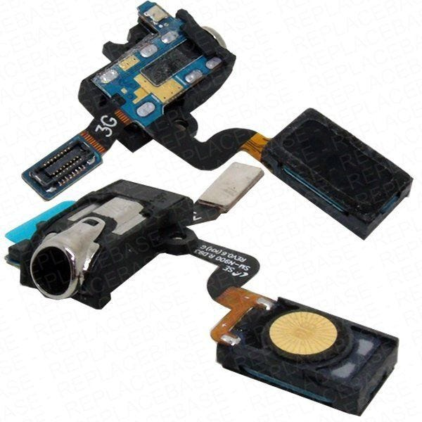 Earpiece and headphone jack replacement flex for the N9000