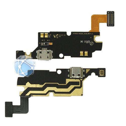 Samsung Note full bottom assembly board with antenna, USB port and microphone