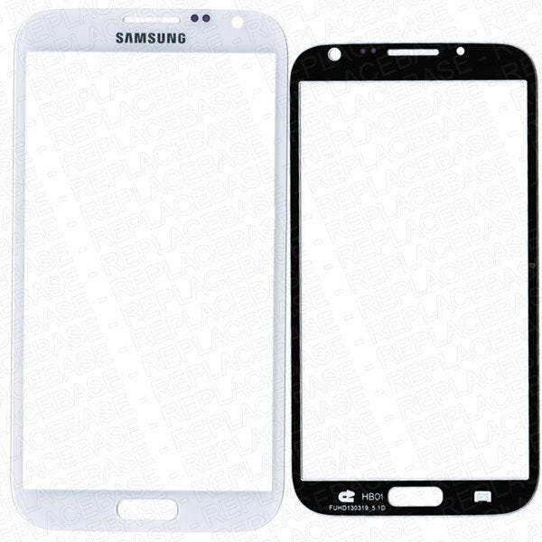 Samsung Galaxy Note 2 front glass panel only.