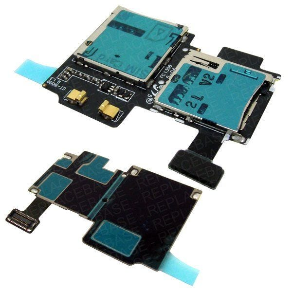 Samsung Galaxy S4 replacement SIM card and SD card slots