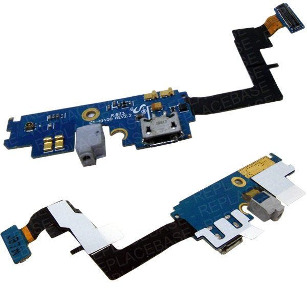Samsung Galaxy S2 replacement dock port with microphone