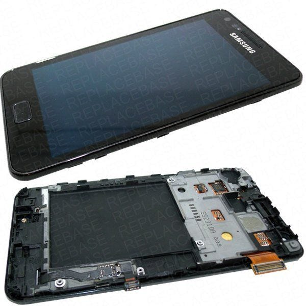 Complete assembly including chassis / frame, home button and touch buttons