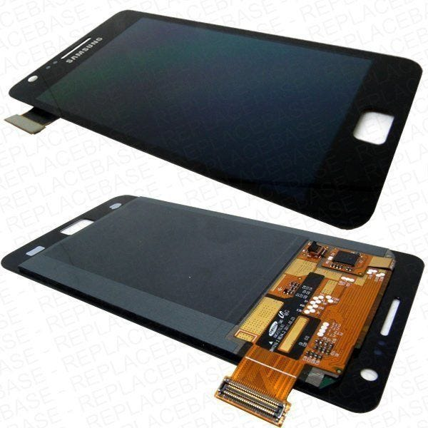 Samsung Galaxy i9100 LCD and touch screen assembly - Black