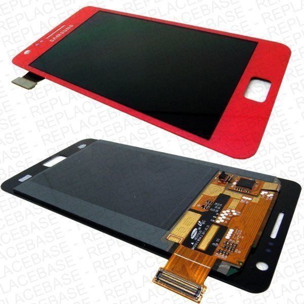 Samsung Galaxy i9100 LCD and touch screen assembly - Pink
