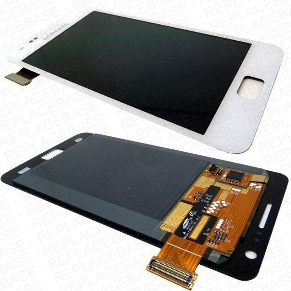 Samsung Galaxy i9100 LCD and touch screen assembly - White