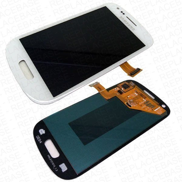 Samsung Galaxy S3 Mini front assembly - White