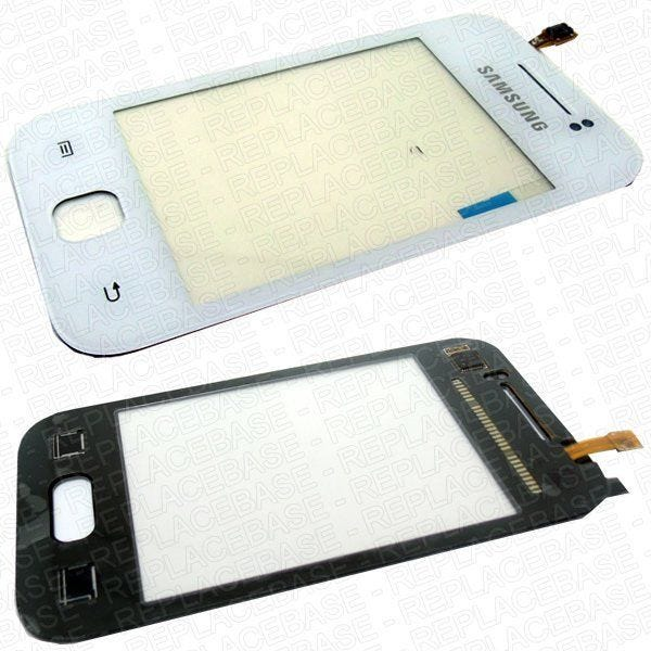 Original Samsung Galaxy Y replacement touch screen with bonding adhesive pre-applied.