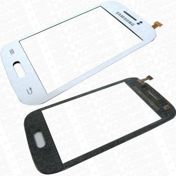 Original Samsung Galaxy Young S6810 replacement touch screen with bonding adhesive pre-applied