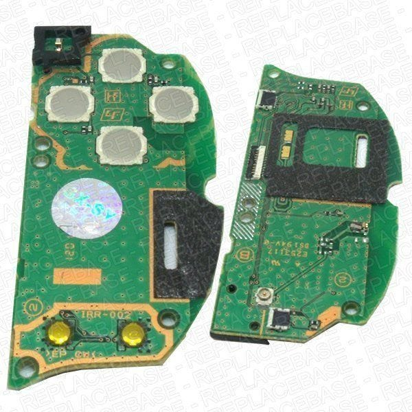 Replacement PCB for the PS Vita, this is the right side PCB that has the start / select buttons and action buttons