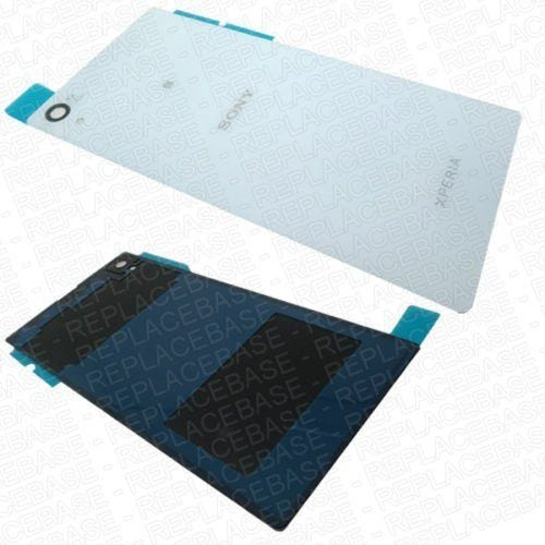 Original Sony Xperia Z1 replacement rear panel, includes water / dust resistive adhesive seal and camera lens .