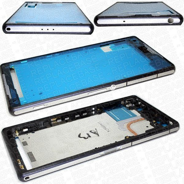 Sony Xperia Z1 main chassis, chassis includes coper head displacement pipe and all port covers