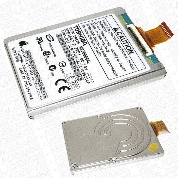 New replacement HDD for the iPod Video (also known as Classic 5G or Video 5G)